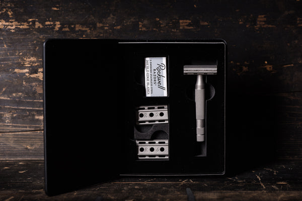 6S Double Edge Safety Razor | Rockwell Razor - Manready Mercantile