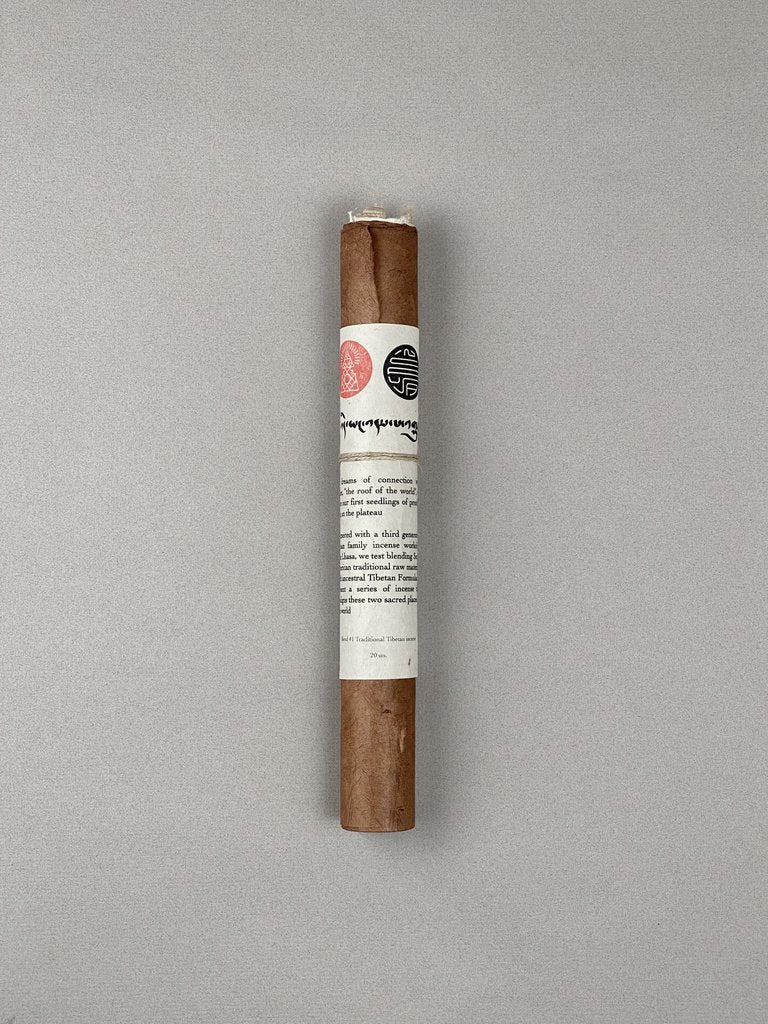 Lhasa Incense Scroll | Incausa