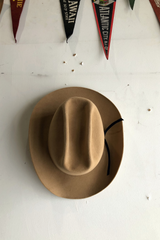 Continental Hat | Camel | Kennimer - Manready Mercantile