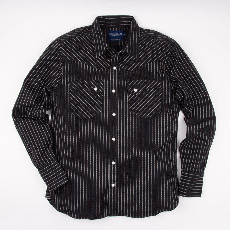 Calico Shirt | Black Wabash | Freenote Cloth