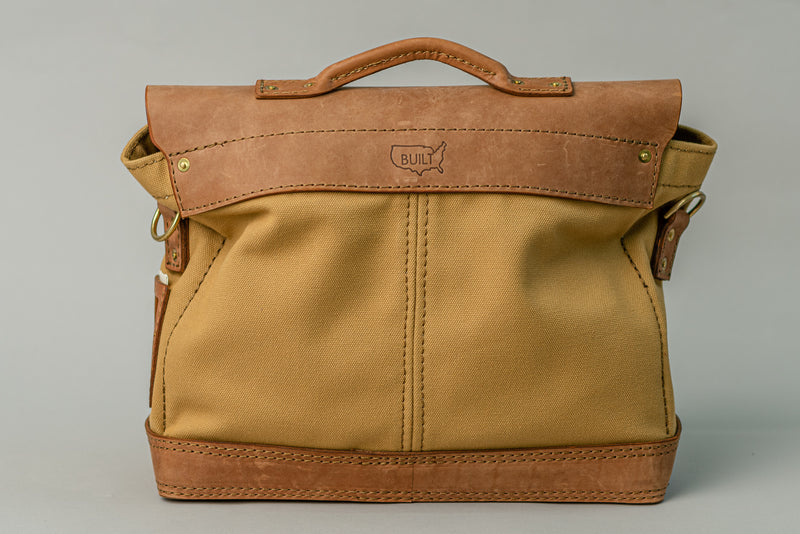 Dispatch Brief | Light Brown on Khaki | Thrux Lawrence - Manready Mercantile