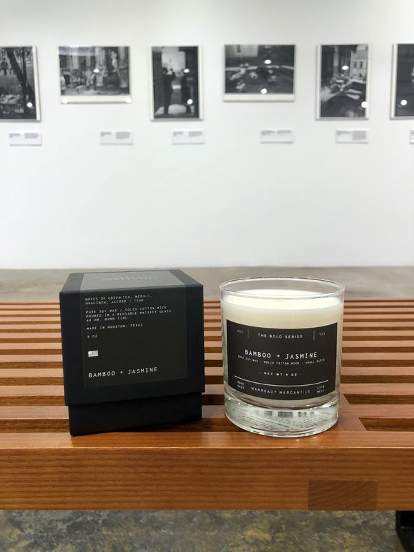 The Bold Series Soy Candle | Bamboo + Jasmine | Manready Mercantile