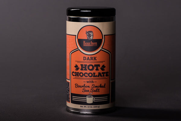 Bourbon Smoked Sea Salt Dark Hot Chocolate | Bourbon Barrel Foods - Manready Mercantile