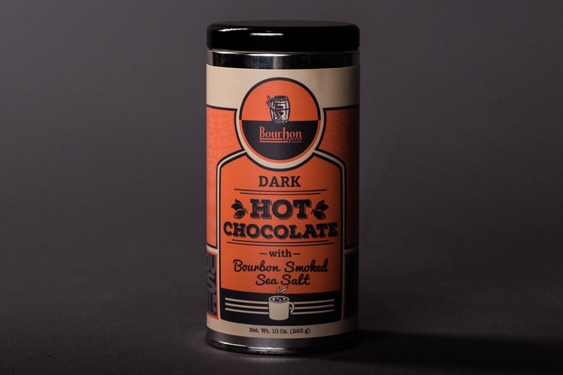 Bourbon Smoked Sea Salt Dark Hot Chocolate | Bourbon Barrel Foods
