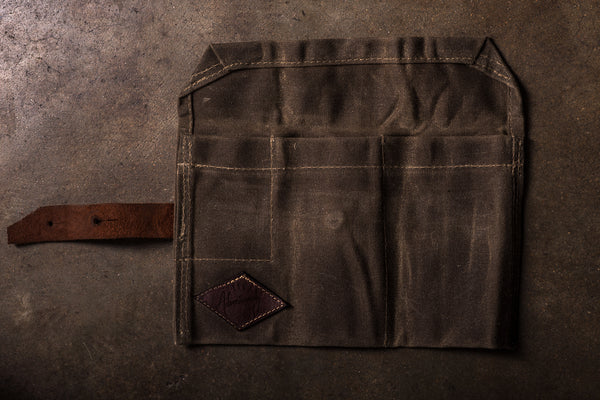 Bradley Mountain Waxed Canvas Pipe Roll Made in America Mens Manready Mercantile