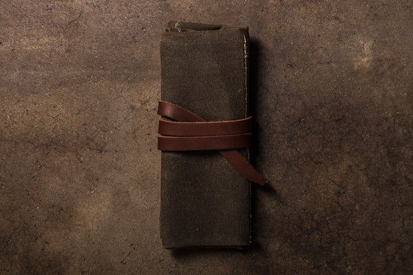 Bradley Mountain Waxed Canvas Utility Tool Pouch Small Goods Travel Made In California Manready Mercantile