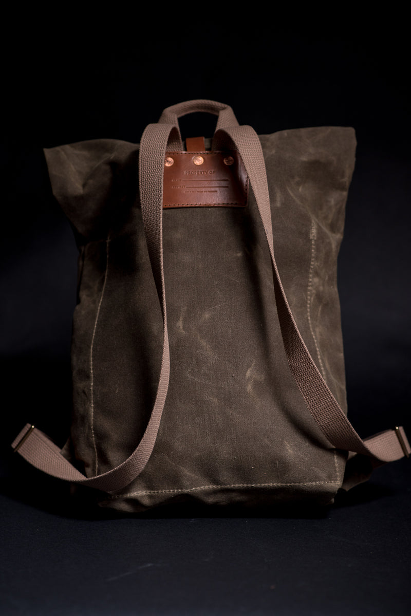 Day Pack | Field Tan | Bradley Mountain - Manready Mercantile