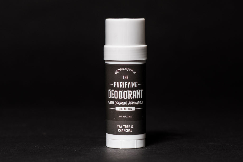 Brothers Artisan Oil Deodorant Charcoal Tea Tree Oil All Natural Manready Mercantile