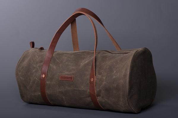 The Weekender Duffle | Field Tan | Bradley Mountain