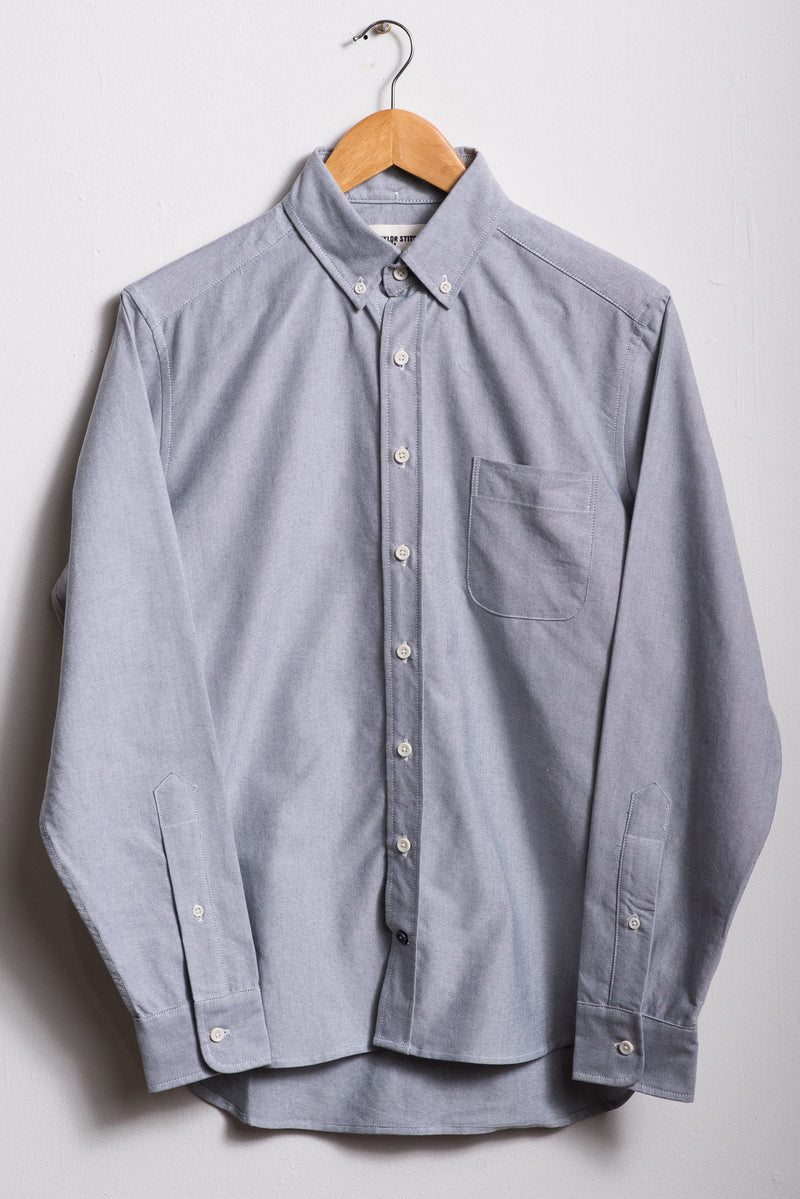 The Jack Everyday Oxford | Charcoal | Taylor Stitch - Manready Mercantile