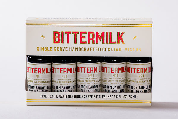 Bittermilk Single Serve Set of Five available at Manready Mercantile and manready.com