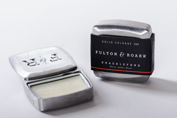 fulton and roark solid cologne parfum travel size manready mercantile