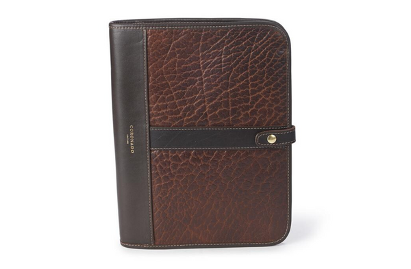 Bison Executive Folio No. 971 | Coronado Leather - Manready Mercantile