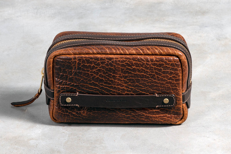 Bison Travel Kit #590 | Coronado Leather - Manready Mercantile