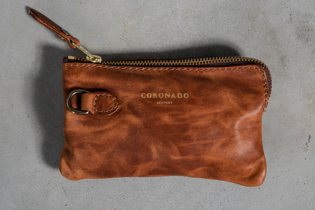 Collection Pouch | Chestnut | Coronado Leather
