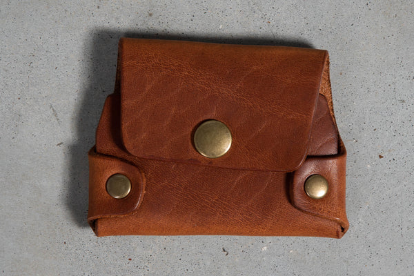Cash & Card Wallet | Chestnut | Coronado Leather