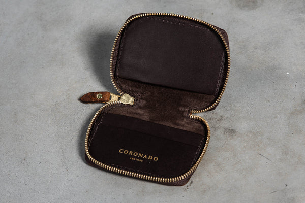 Bison Full Zip Wallet #660 | Coronado Leather