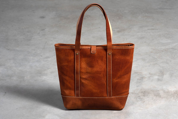 Americana Tote Bag | Chestnut | Coronado Leather