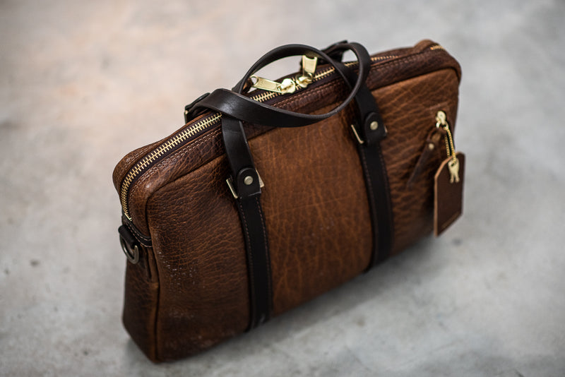 Bison Briefcase #551 | Coronado Leather
