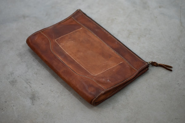 Vintage Stone Washed Folio #119 | Coronado Leather
