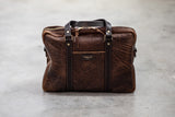 bison leather briefcase manready mercantile