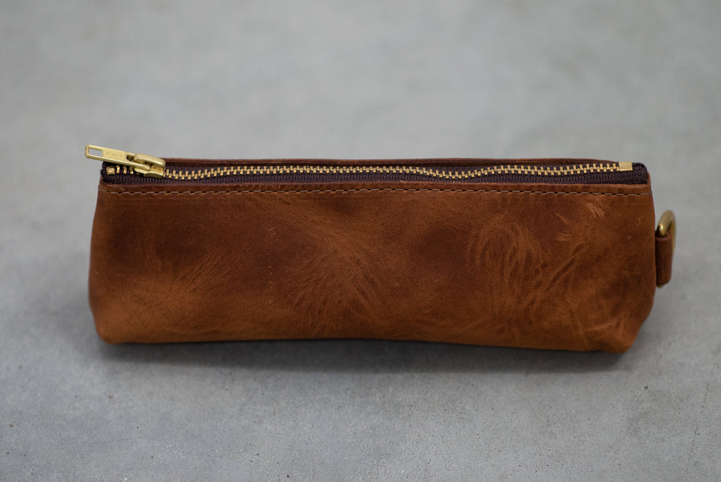 Utility Case | Chestnut | Coronado Leather