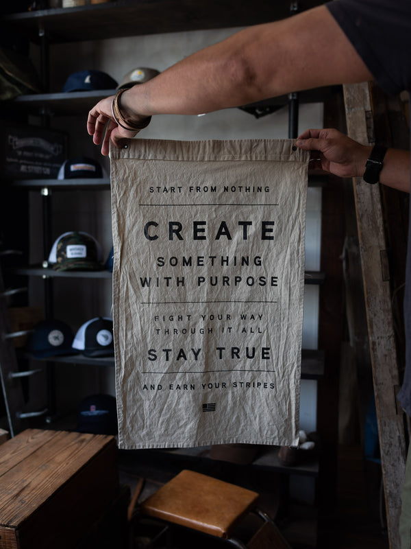 Start from Nothing Flag | Wild Standard x Manready Mercantile - Manready Mercantile