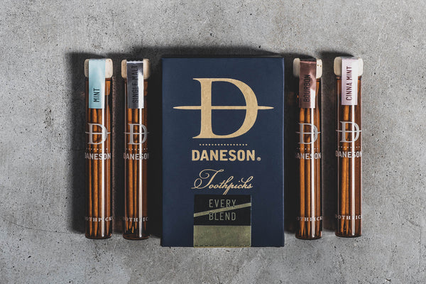 daneson toothpicks mint cinna mint bourbon single malt civilwar_supermodel Manready mercantile