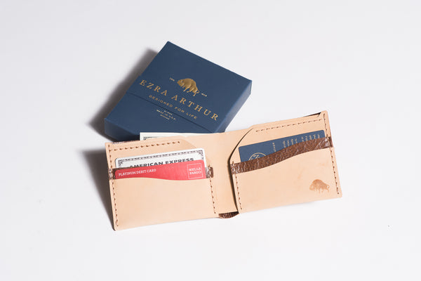 Leather Wallet | No. 6 | Ezra Arthur