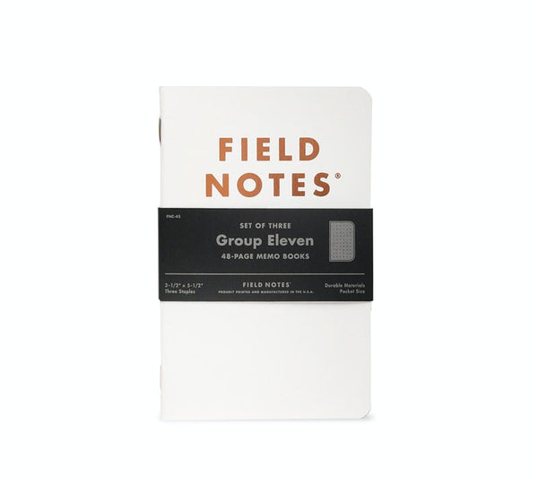 Group Eleven | 3 Pack | Field Notes - Manready Mercantile