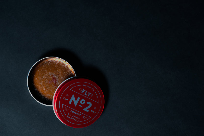 No. 2 Pomade | Matte Finish, Medium Hold | Fly Barbershop - Manready Mercantile