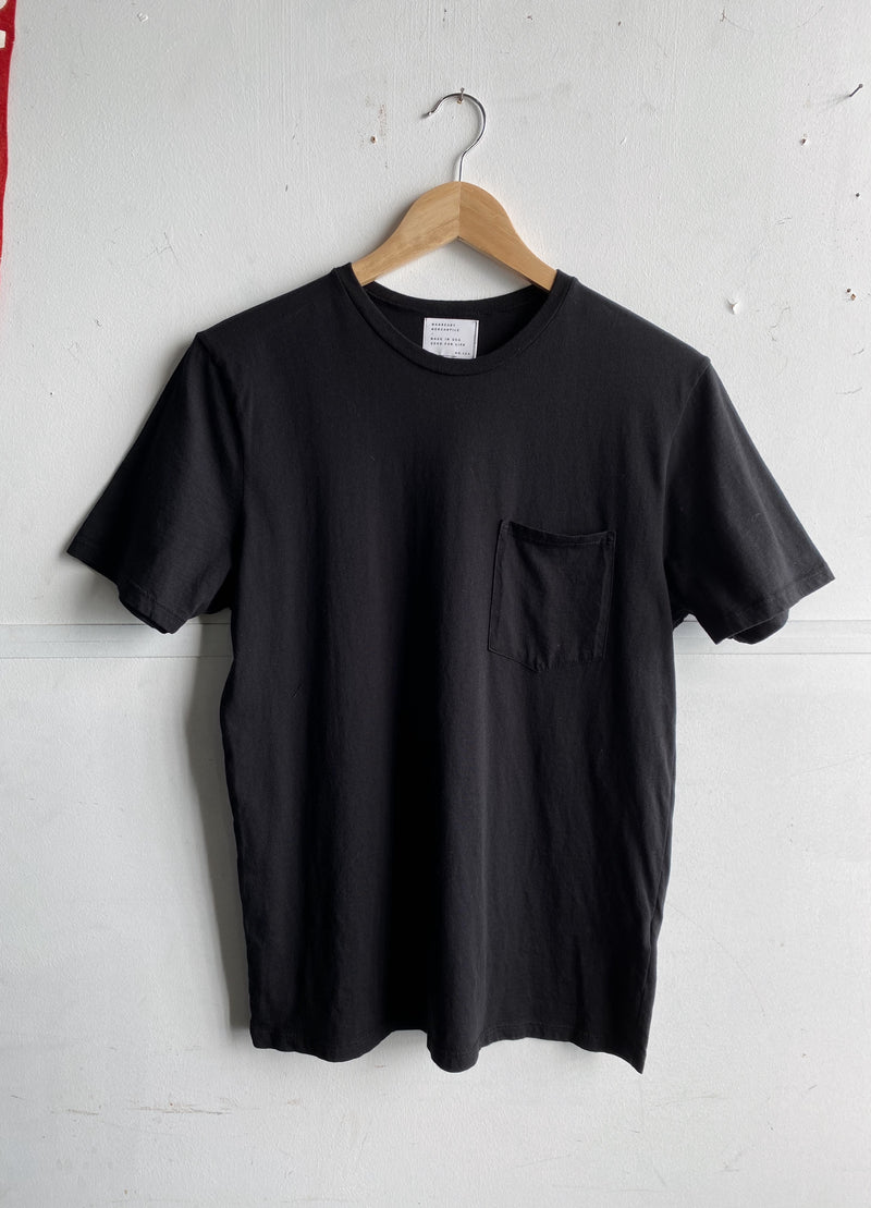 Basic Pocket Tee | Black | Manready Mercantile
