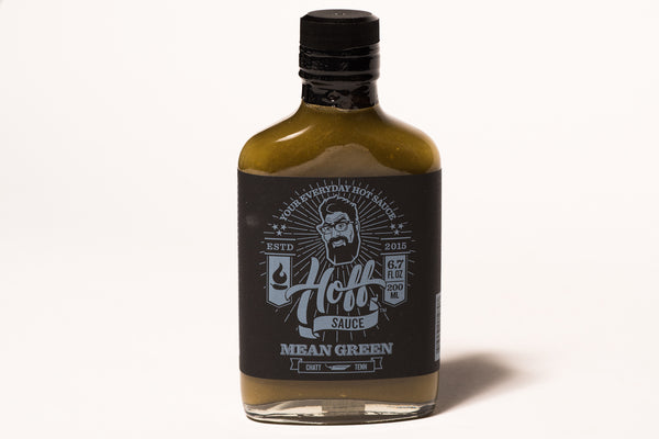 Hoff & Pepper Hot Sauce Mean Green Manready Mercantile