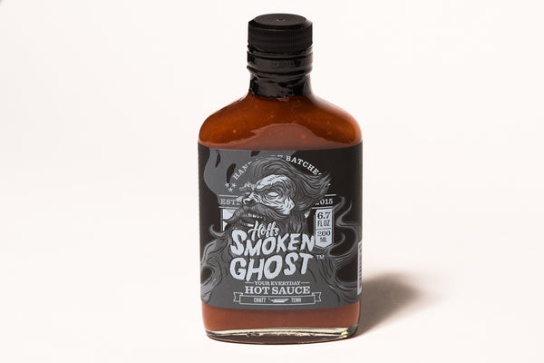 Hoff & Pepper Smoken Ghost Hot Sauce Ghost Pepper Manready Mercantile