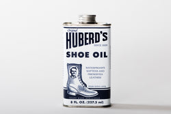Huberd's Shoe Oil available at Manready Mercantile and manready.com