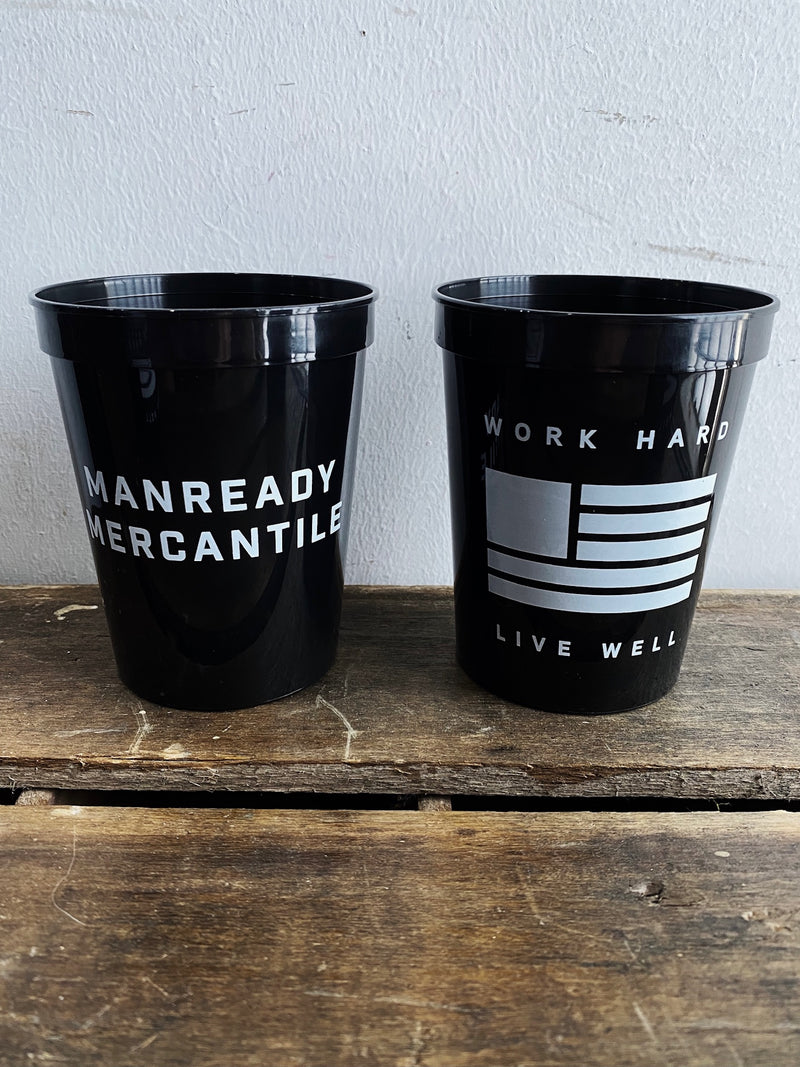 Stadium Cup | Work Hard Live Well | Manready Mercantile