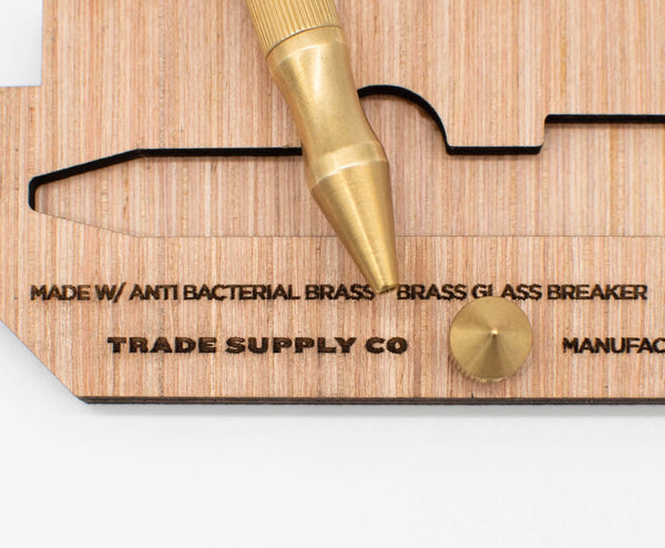 Brass Bolt Action Pen | Trade Supply Co.