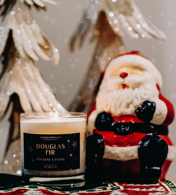 LIMITED EDITION HOLIDAY CANDLE | DOUGLAS FIR | MANREADY MERCANTILE *UNBOXED*