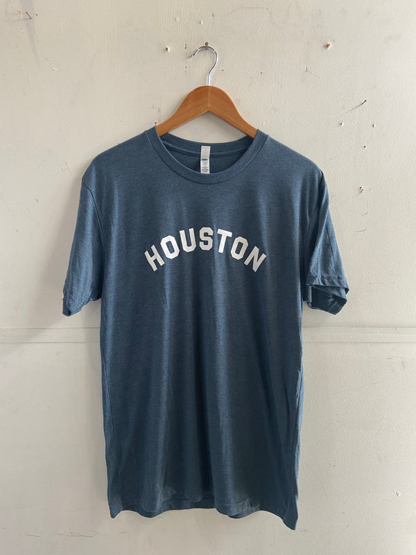 Graphic Tee | HOUSTON | Blue | Royal Apparel x Manready Mercantile