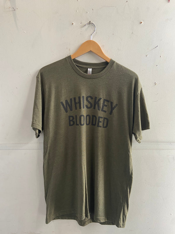 Graphic Tee | Whiskey Blooded | Forest Green | Royal Apparel x Manready Mercantile