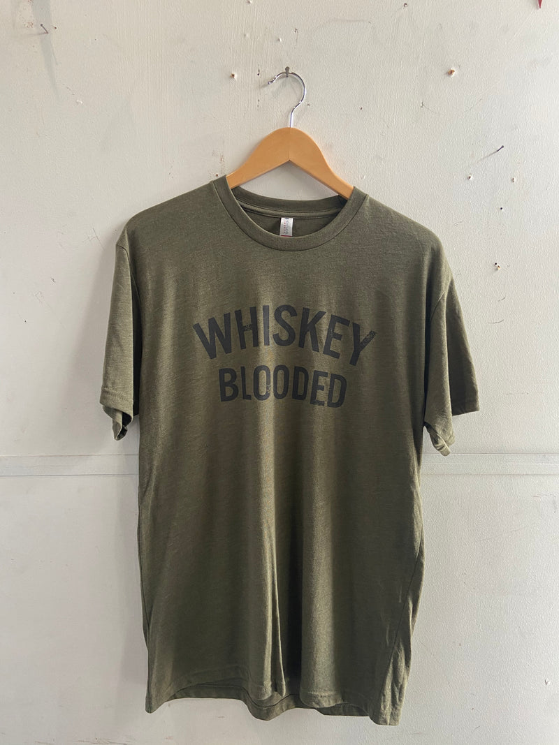 Graphic Tee | Whiskey Blooded | Forest Green | Manready Mercantile