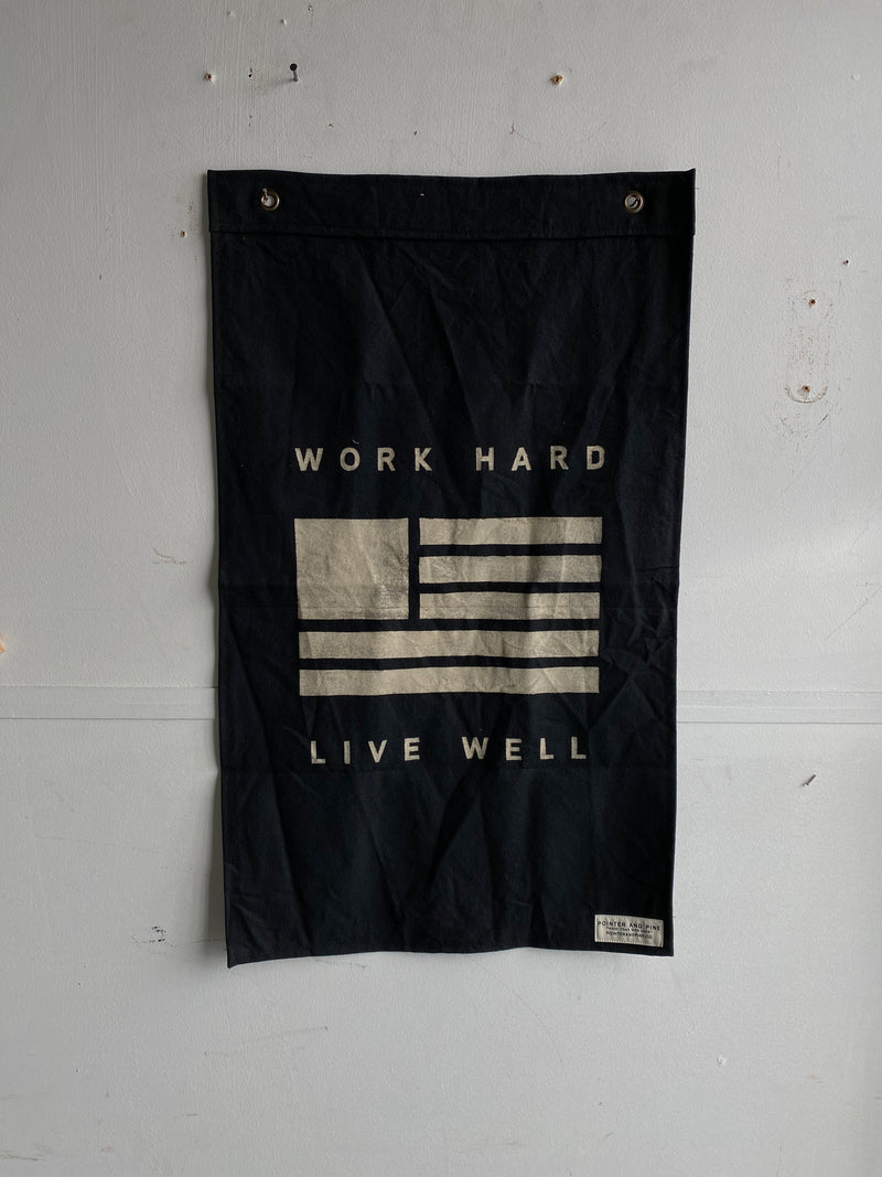 Banner | Work Hard Live Well | Pointer and Pine
