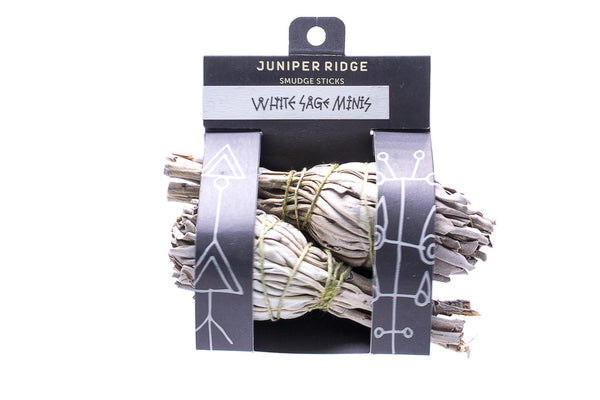Juniper Ridge White Sage Smudge Stick Bundle Harvested Incense