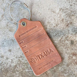 Luggage Tag | TX | Odin Leather Goods