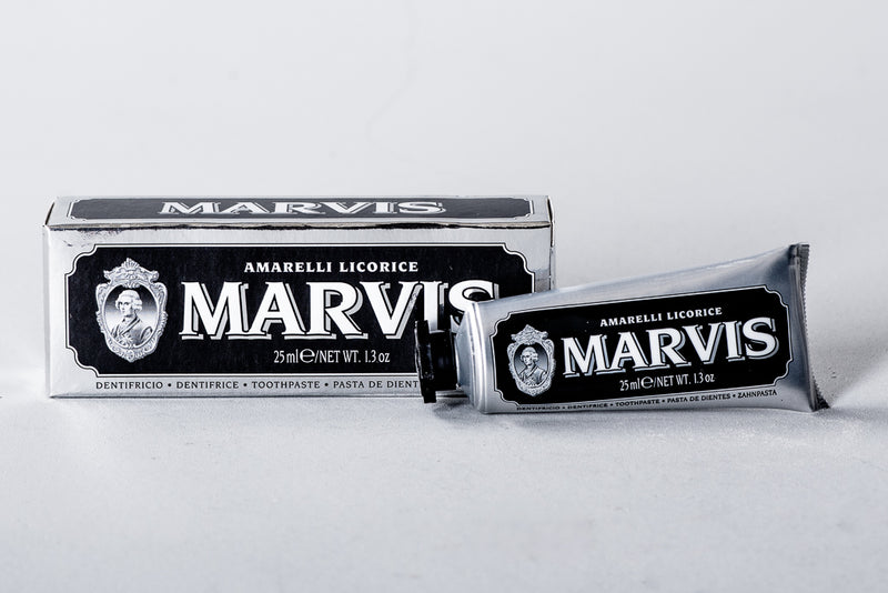Marvis Amarelli Licorice Toothpaste Classic Apothecary Teeth Clean Manready Mercantile