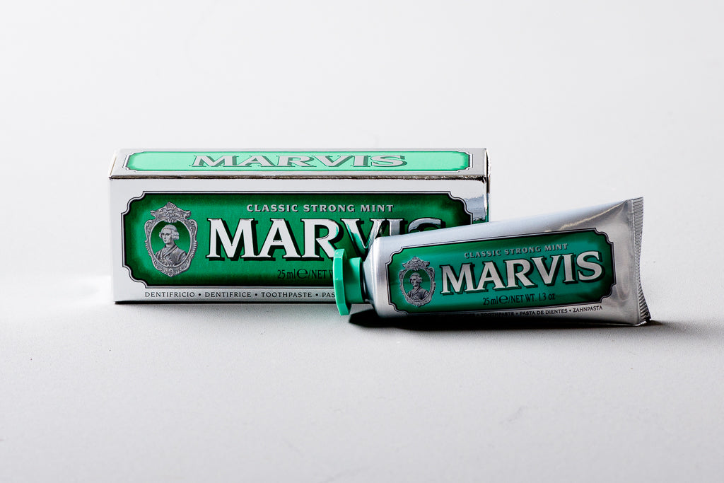Marvis Classic Strong Mint | Toothpaste 25ml | C.O. Bigelow