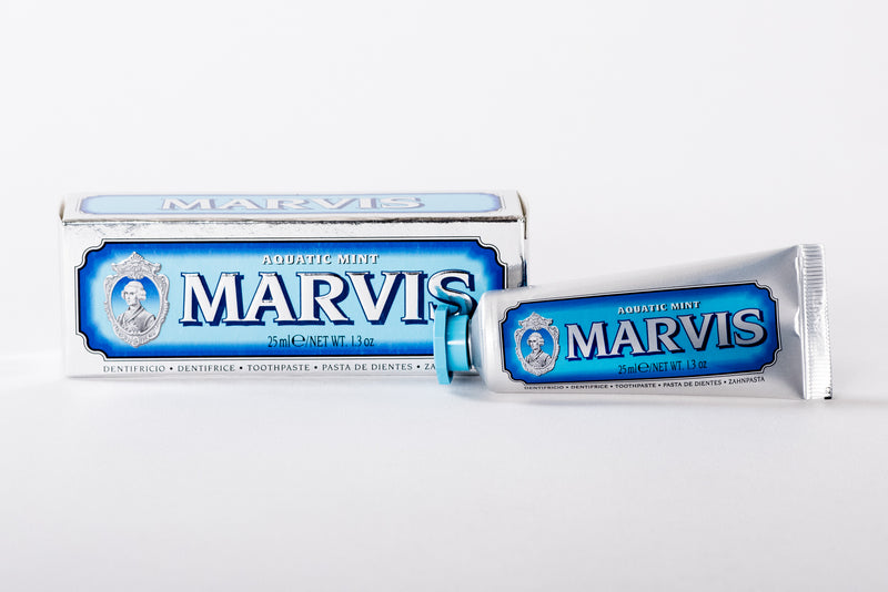 Marvis Aquatic Mint Toothpaste | C.O. Bigelow - Manready Mercantile