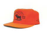 Wild Places Strapback | Orange | The Ampal Creative