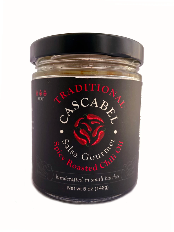 Spicy Roasted Chili Oil | Traditional | Cascabel Salsa Gourmet