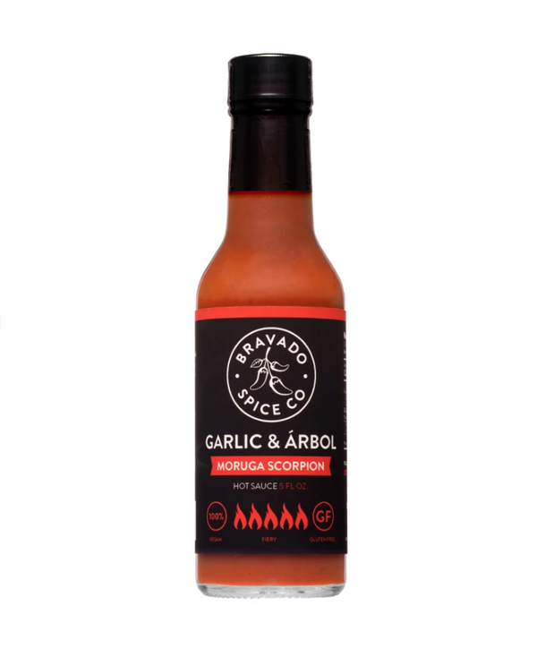 Garlic & Árbol Moruga Scorpion Hot Sauce | Bravado Spice Co.